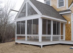 Aluminum Products of Cape Cod Porch